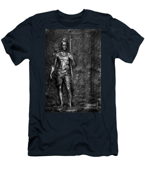 Statue Of Lord Sri Ram Men's T-Shirt (Athletic Fit)