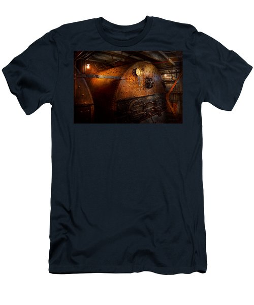 Steampunk - Plumbing - The Home Of A Stoker  Men's T-Shirt (Athletic Fit)