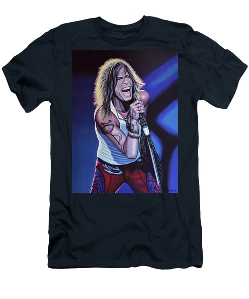 Steven Tyler 3 Men's T-Shirt (Athletic Fit)