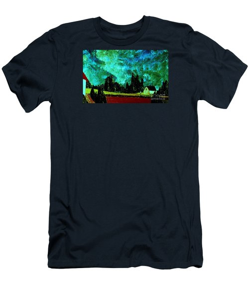 Men's T-Shirt (Slim Fit) featuring the painting Stormlight by Bill OConnor