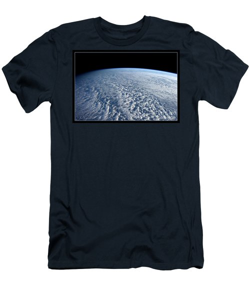 Stratocumulus Clouds Over Pacific Nasa Men's T-Shirt (Athletic Fit)