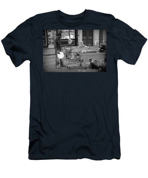 Street Vendor Men's T-Shirt (Athletic Fit)