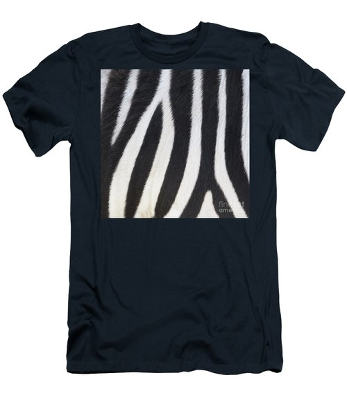Men's T-Shirt (Athletic Fit) featuring the photograph Stripes On Zebra by Bryan Mullennix