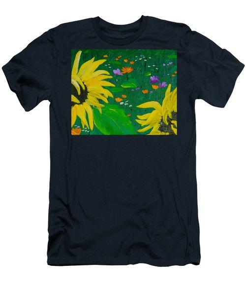 Summer Dance Men's T-Shirt (Athletic Fit)