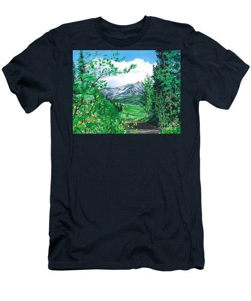 Summer Paradise Men's T-Shirt (Athletic Fit)