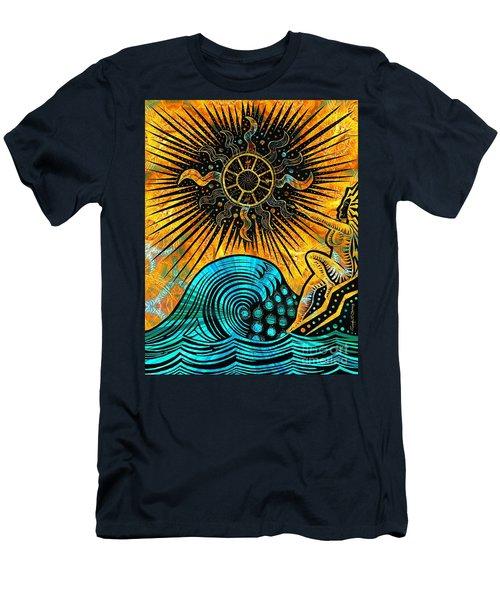 Big Sur Sun Goddess Men's T-Shirt (Slim Fit) by Joseph J Stevens
