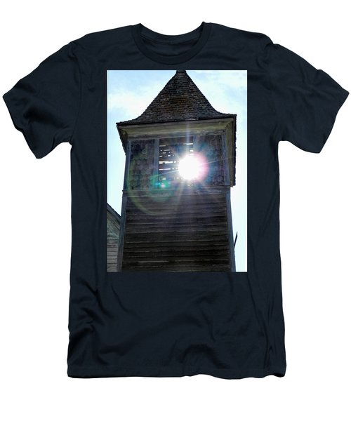 Sun Through The Steeple-by Cathy Anderson Men's T-Shirt (Slim Fit) by Cathy Anderson