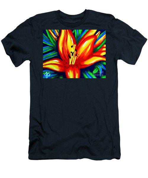 Sunburst Men's T-Shirt (Slim Fit) by Jackie Carpenter