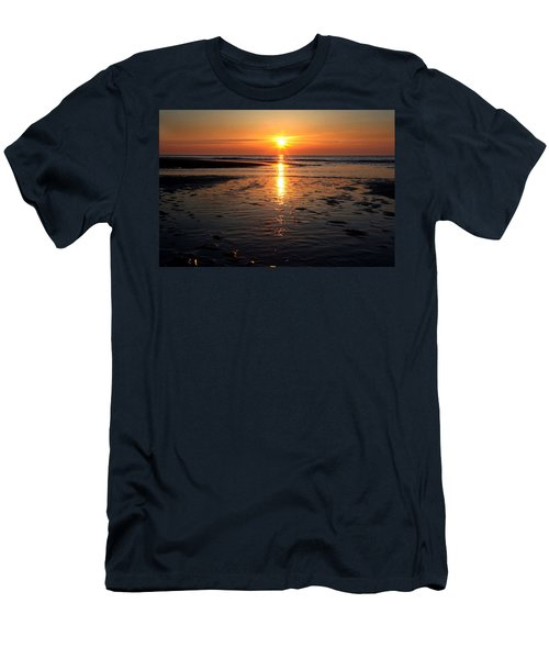 Sundown At The North Sea Men's T-Shirt (Athletic Fit)