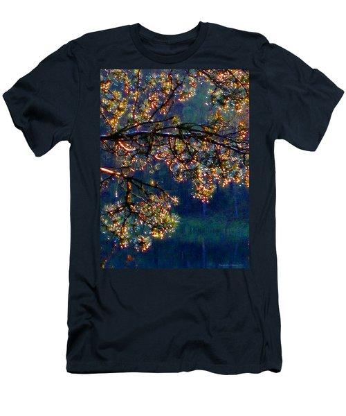 Men's T-Shirt (Slim Fit) featuring the photograph Sundrops by Leena Pekkalainen