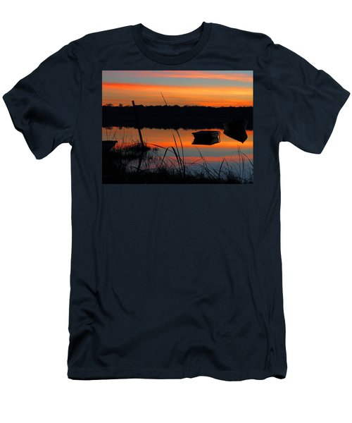 Men's T-Shirt (Slim Fit) featuring the photograph Sunrise Cove  by Dianne Cowen