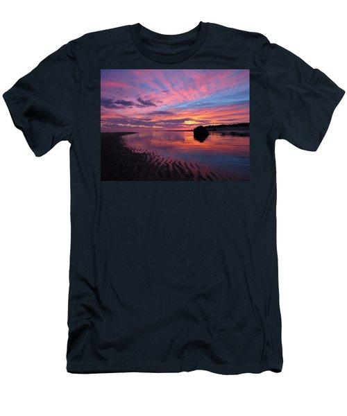 Men's T-Shirt (Slim Fit) featuring the photograph Sunrise Drama by Dianne Cowen