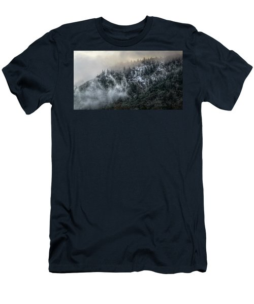 Men's T-Shirt (Slim Fit) featuring the photograph Sunrise In The Clouds by Melanie Lankford Photography