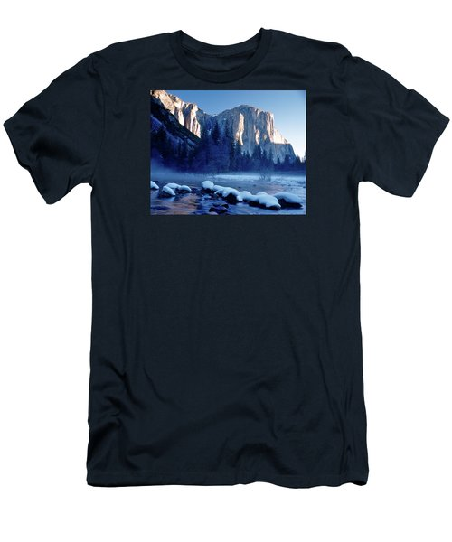 Sunrise On El Capitan Yosemite National Park Men's T-Shirt (Athletic Fit)