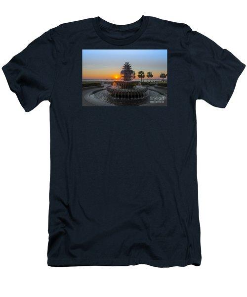 Sunrise Over Charleston Men's T-Shirt (Athletic Fit)