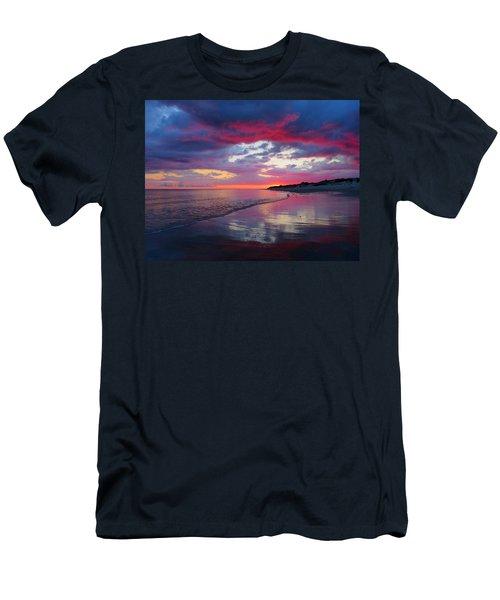 Men's T-Shirt (Slim Fit) featuring the photograph Sunrise Sizzle by Dianne Cowen