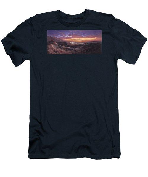 Sunset At Big Sur Men's T-Shirt (Athletic Fit)