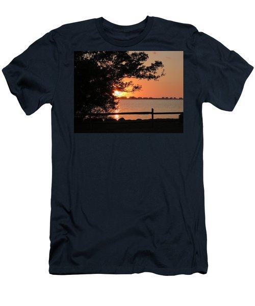 Sunset On Sarasota Harbor Men's T-Shirt (Athletic Fit)