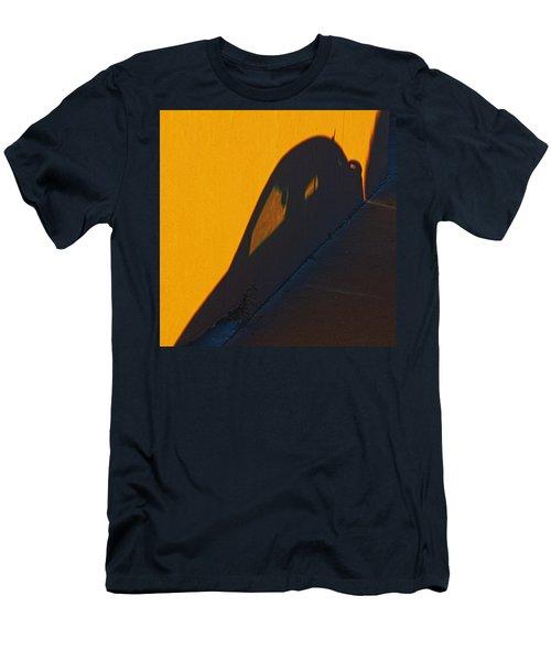 Men's T-Shirt (Slim Fit) featuring the photograph Sunset Shadow Car by John Hansen
