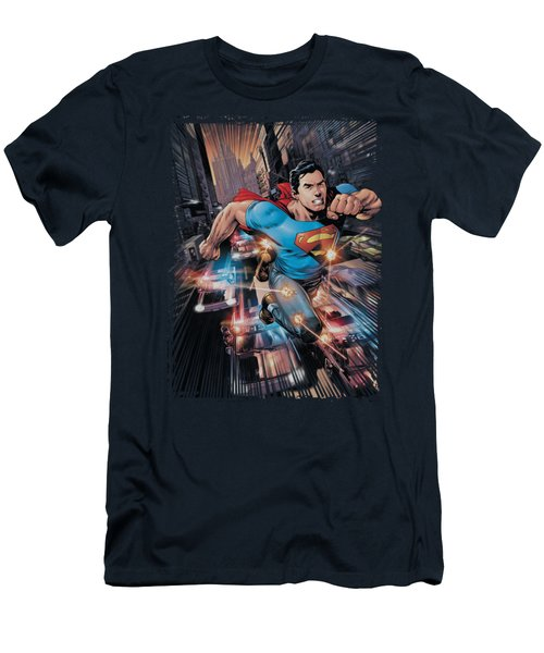 Superman - Action Comics #1 Men's T-Shirt (Athletic Fit)