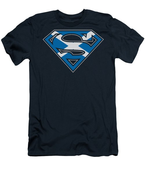 Superman - Scottish Shield Men's T-Shirt (Athletic Fit)