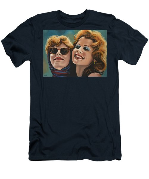 Susan Sarandon And Geena Davies Alias Thelma And Louise Men's T-Shirt (Athletic Fit)