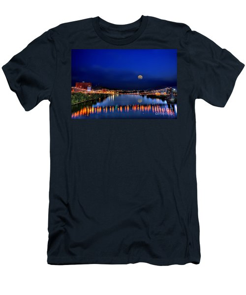Suspension Bridge Men's T-Shirt (Athletic Fit)