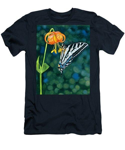 Swallowtail Splendor Men's T-Shirt (Athletic Fit)