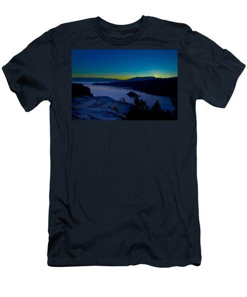 Tahoe Sunrise Men's T-Shirt (Athletic Fit)