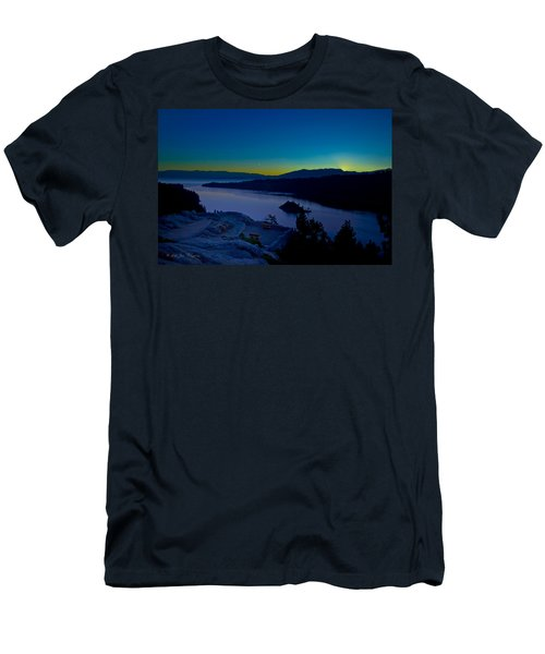 Tahoe Sunrise Men's T-Shirt (Athletic Fit)