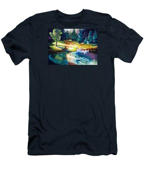 Taking A Break 2 Men's T-Shirt (Slim Fit) by Kathy Braud