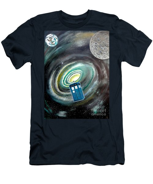 Tardis Men's T-Shirt (Athletic Fit)