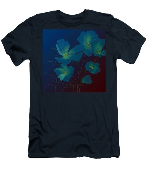 Men's T-Shirt (Slim Fit) featuring the digital art Tender Cosmos by Latha Gokuldas Panicker