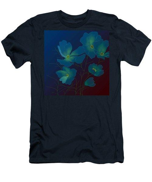 Tender Cosmos Men's T-Shirt (Slim Fit) by Latha Gokuldas Panicker