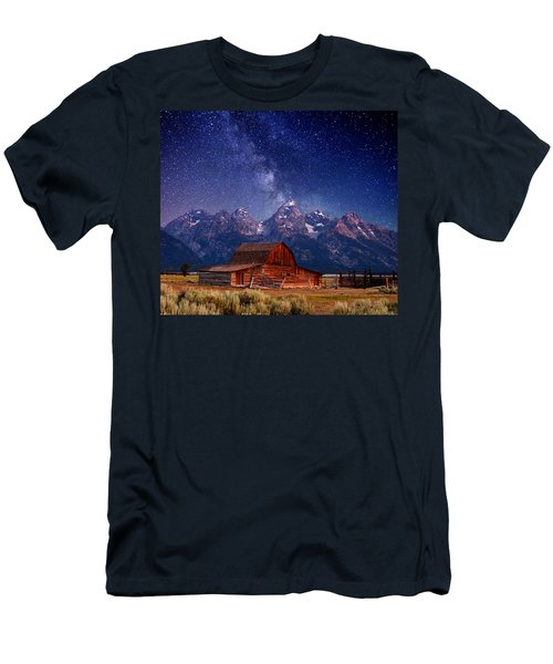 Teton Nights Men's T-Shirt (Athletic Fit)