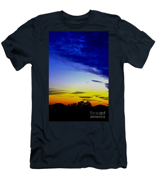 Texas Hill Country Sunset Men's T-Shirt (Athletic Fit)