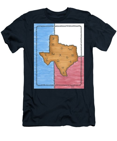 Texas Tried And True Red White And Blue Men's T-Shirt (Athletic Fit)