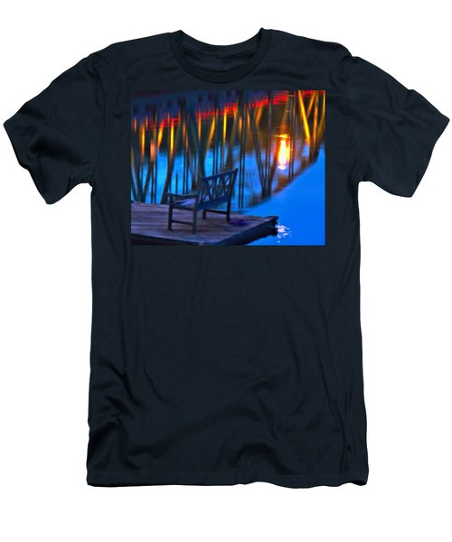 The Bidge At Sunset Men's T-Shirt (Athletic Fit)