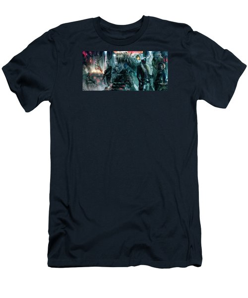 The Black Hole Gang Men's T-Shirt (Athletic Fit)