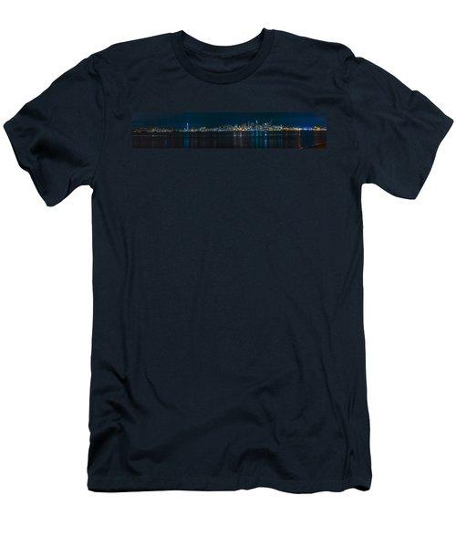 The Blue Monster Men's T-Shirt (Slim Fit) by James Heckt