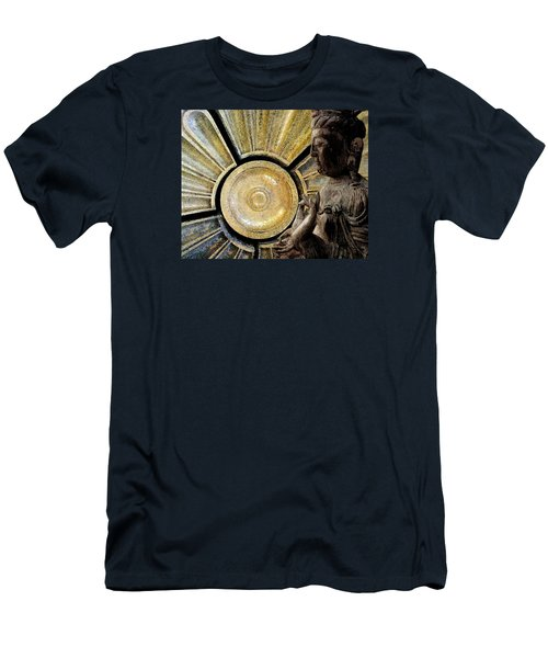 the Buddha  c2014  Paul Ashby Men's T-Shirt (Slim Fit) by Paul Ashby