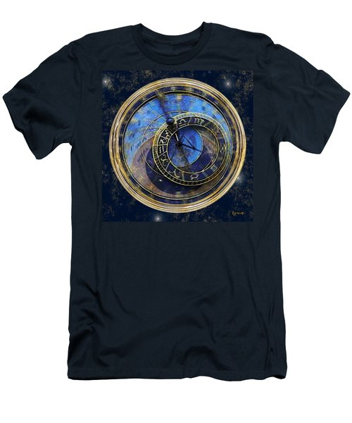 The Carousel Of Time Men's T-Shirt (Athletic Fit)