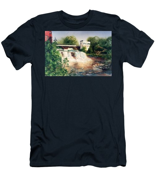 The Chagrin Falls In Summer Men's T-Shirt (Athletic Fit)