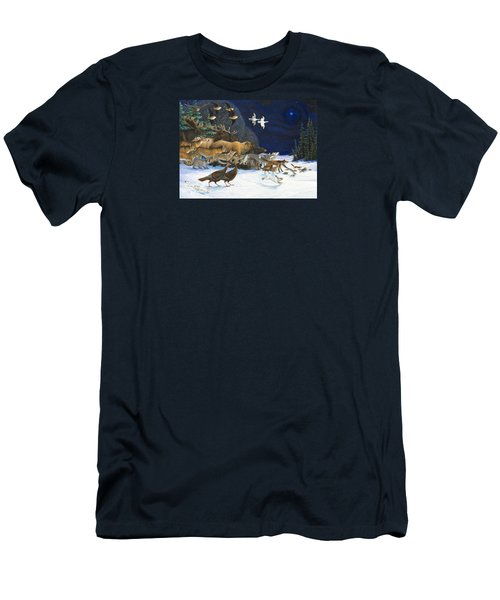 The Christmas Star Men's T-Shirt (Athletic Fit)