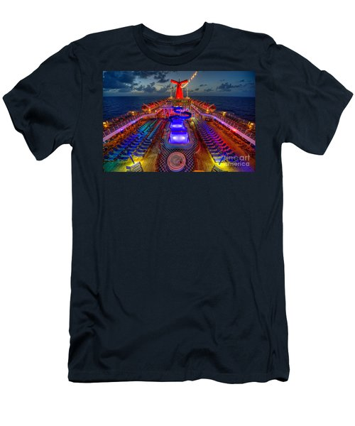 The Cruise Lights At Night Men's T-Shirt (Athletic Fit)