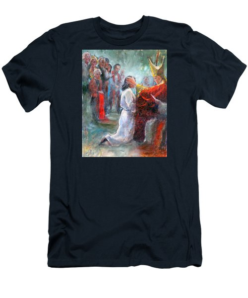 The Episcopal Ordination Of Sierra Wilkinson Men's T-Shirt (Slim Fit) by Gertrude Palmer