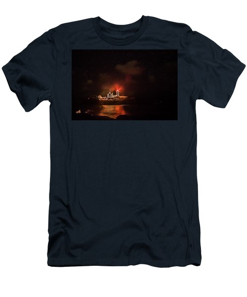 Men's T-Shirt (Slim Fit) featuring the photograph The Fog Rolls In by Jeff Folger
