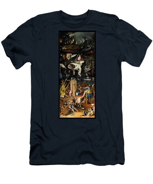 The Garden Of Earthly Delights. Right Panel Men's T-Shirt (Athletic Fit)