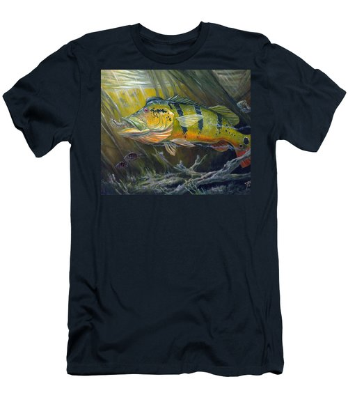 The Great Peacock Bass Men's T-Shirt (Athletic Fit)