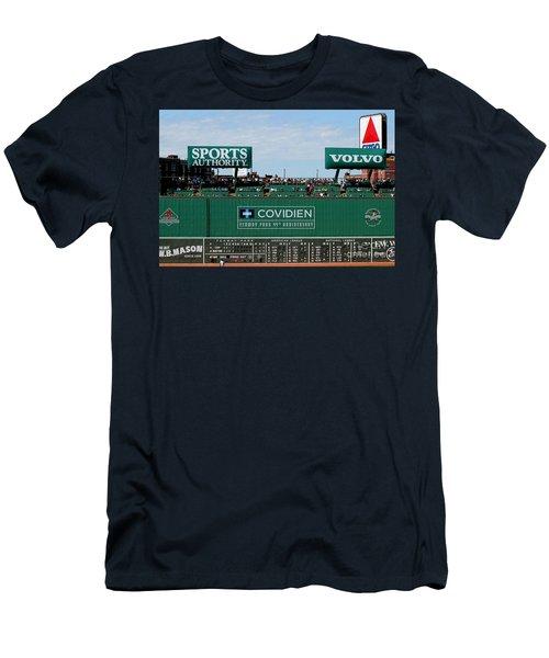 The Green Monster 99 Men's T-Shirt (Slim Fit) by Tom Prendergast